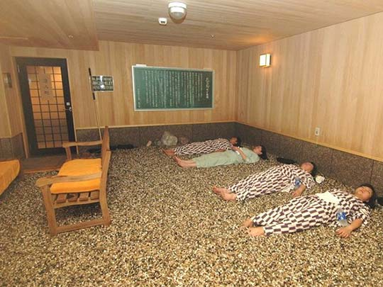 熱海温泉 伊東園ホテル熱海館 岩盤浴
