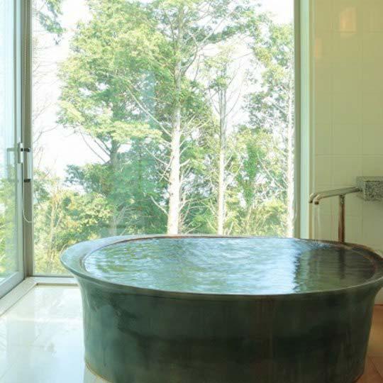 熱海倶楽部 迎賓館 源泉かけ流し客室露天風呂