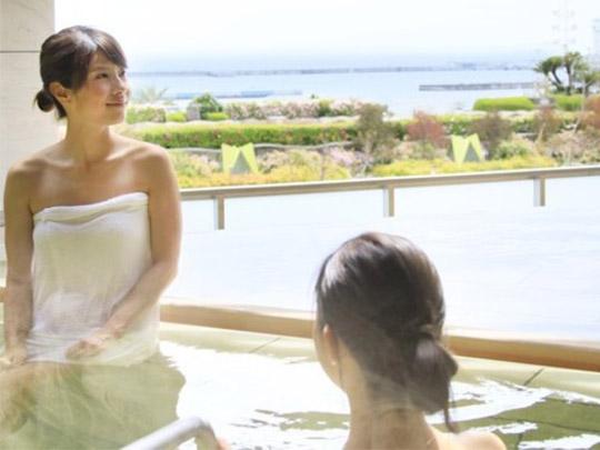 熱海シーサイドスパ&リゾート 新大浴場 露天風呂