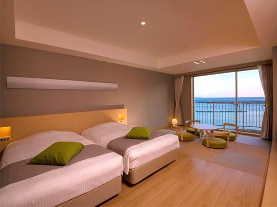 熱海シーサイドスパ&リゾート 客室例(モダン和洋室)