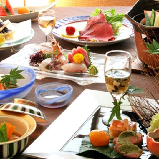 熱海温泉 月の栖 熱海聚楽ホテル 食事一例