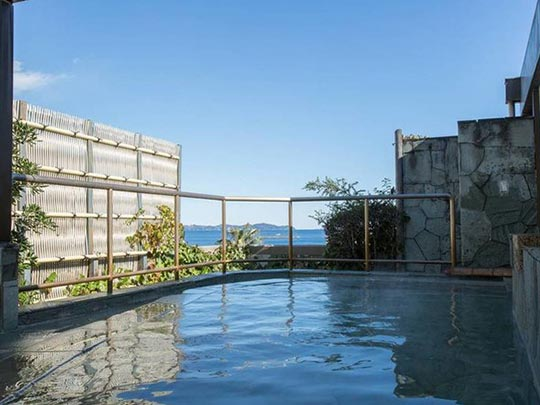 熱海温泉 ホテル大野屋 露天風呂