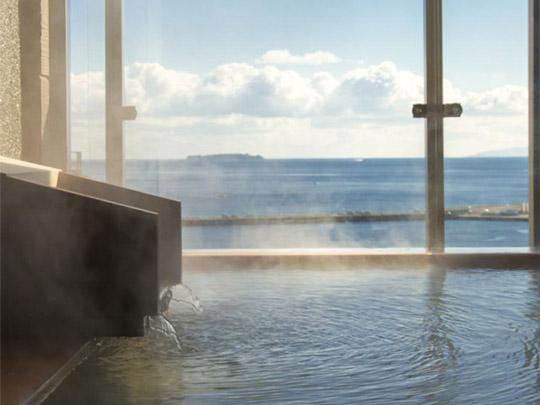熱海温泉 源泉かけ流しの宿 ホテル貫一 展望貸切露天風呂