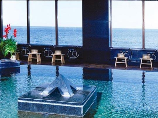 ホテルリゾーピア 熱海 オーシャンビューの温泉大浴場