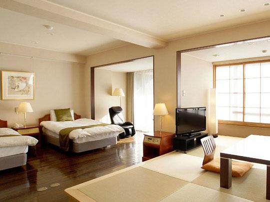 熱海温泉ホテル 夢いろは 客室例(ジュニアスイートルーム)