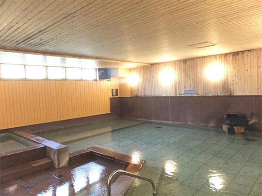 熱海温泉 伊東園ホテル熱海館 別館大浴場「珊瑚の湯」
