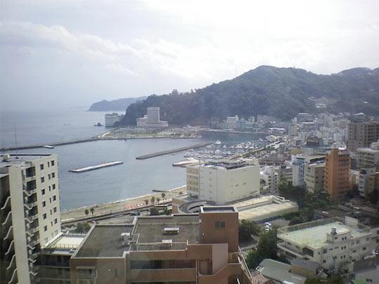 熱海温泉 伊東園ホテル熱海館 レストランからの眺望