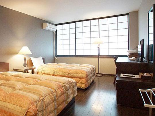 熱海温泉ホテル 夢いろは 洋室ツインルーム