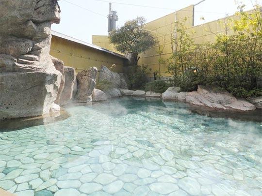 熱海温泉 熱海ニューフジヤホテル 露天風呂 家康の湯