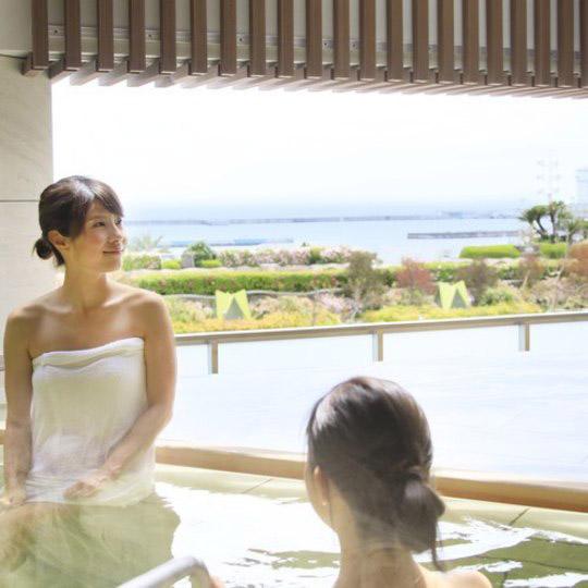 熱海シーサイドスパ&リゾート オーシャンビューの露天風呂