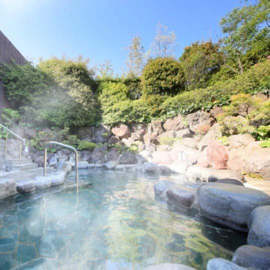 鉄板ダイニング ゆとりろ熱海 露天風呂