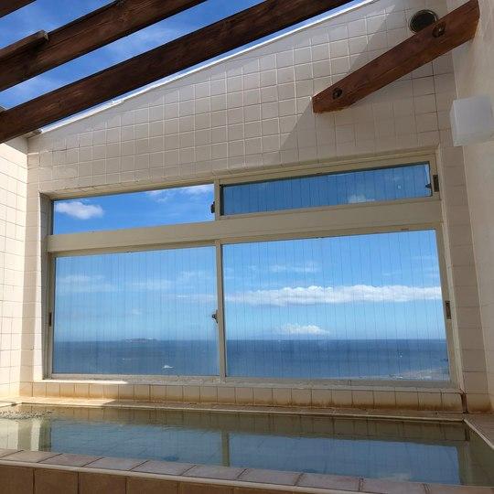貸切温泉のコンドミニアム グランビュー熱海 屋上の展望露天風呂