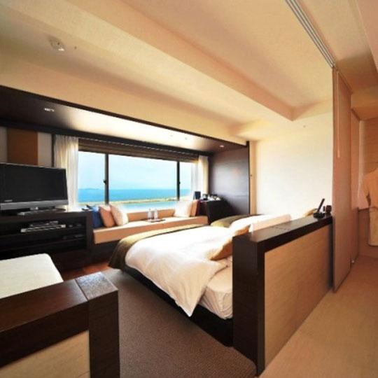 熱海温泉 HOTEL MICURAS(ホテルミクラス) スーペリアオーシャンビューツイン