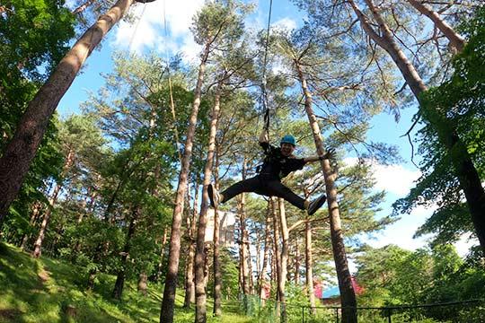 那須の森空中アスレチックNOZARU