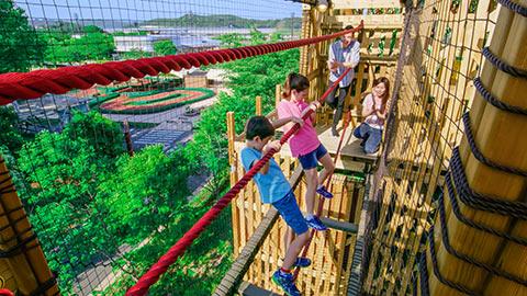 大自然を満喫!大人も子どもも楽しい関東のアスレチック15選