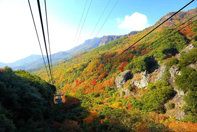 香川県 国立公園 小豆島 寒霞渓