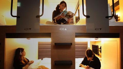 女性にもおすすめ!京都のカプセルホテルランキング