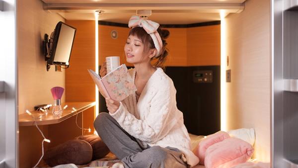 女性専用カプセルホテル a‐STYLE心斎橋
