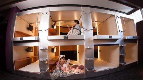 女性にもおすすめ!大阪のカプセルホテルランキングTOP10