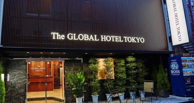 The GLOBAL HOTEL TOKYO