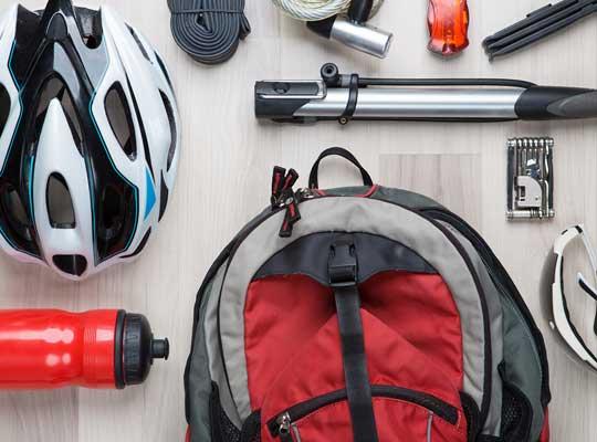 サイクリング装備イメージ