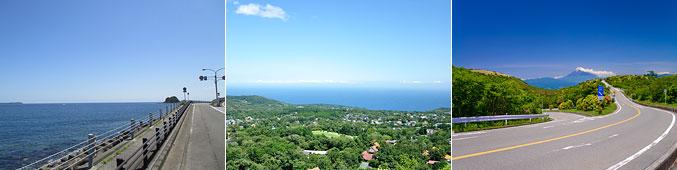 伊豆半島の景色
