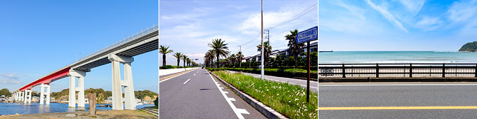 三浦半島の景色