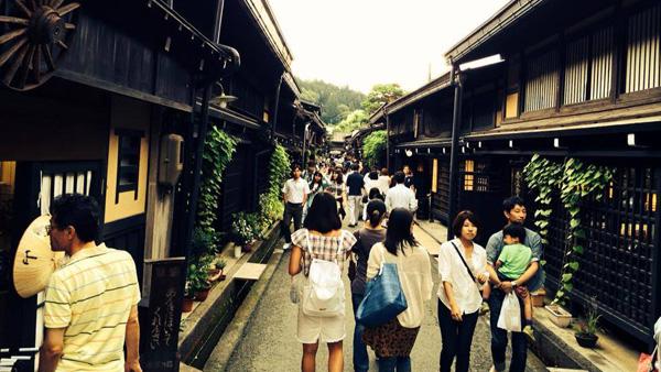 飛騨高山の古い町並(岐阜県)