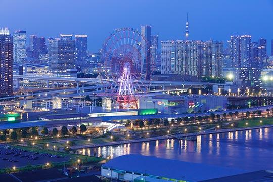 東京お台場 パレットタウン
