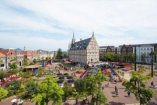 「ハウステンボス」アムステルダム広場