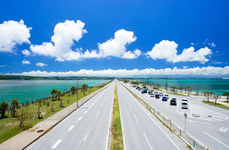 沖縄県 海中道路