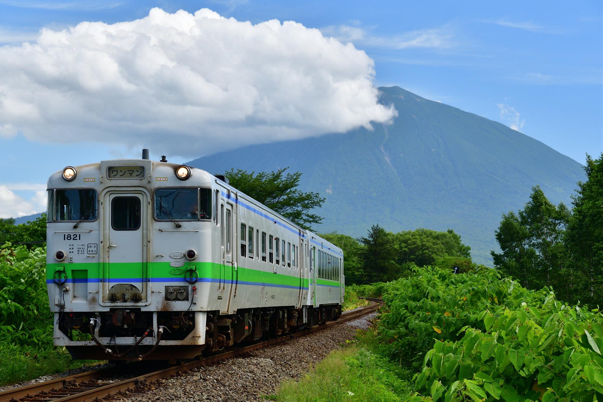 函館本線を走るキハ40