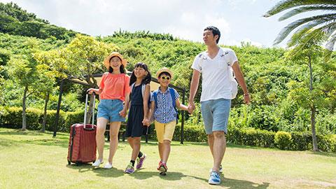 ゴールデンウィークの家族旅行!2019年の人気上昇エリアランキング