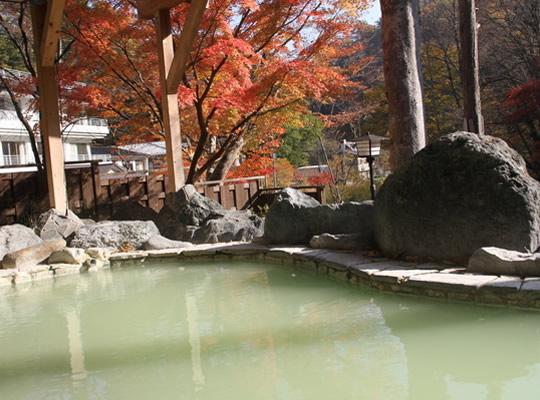 塩原元湯温泉 秘湯の宿 元泉館