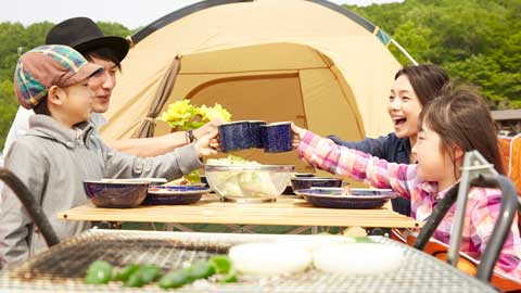 キャンプ体験が楽しめる人気宿ランキングTOP10