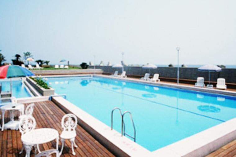 洲本温泉 淡路島観光ホテル 屋外プール