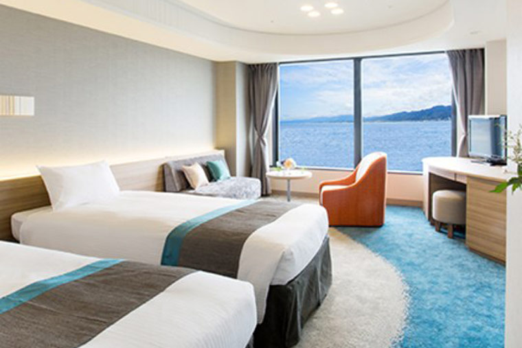 びわ湖大津プリンスホテル 客室例