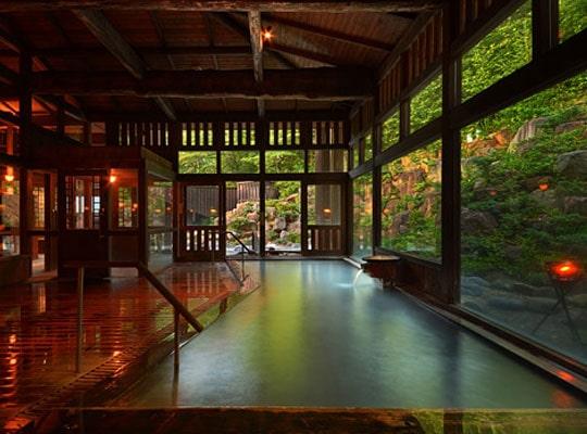 蔵王温泉 蔵王国際ホテル(内風呂)