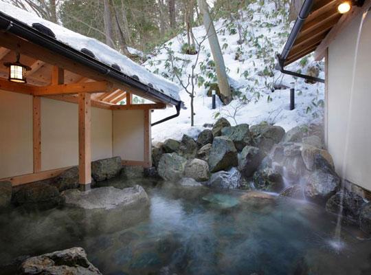 塩原温泉 やまの宿 下藤屋(庭園風露天風呂)