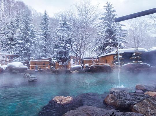緑の風リゾート きたゆざわ(大露天風呂)