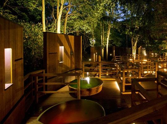 緑の風リゾート きたゆざわ(森の散歩湯)