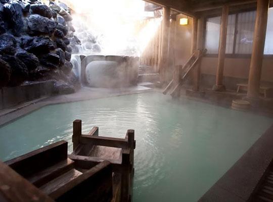 草津温泉 奈良屋(露天風呂「花の湯」)