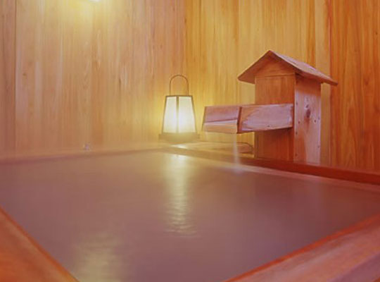 草津温泉 奈良屋(貸切露天風呂「檜」)