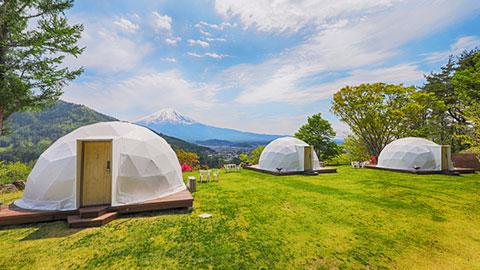 山梨・長野のキャンプ体験できる宿14選。テント泊からグランピングまで!