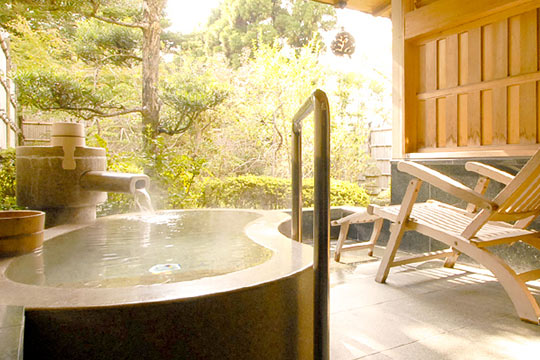 源泉100%かけ流しの温泉宿 伊豆長岡温泉京急ホテル