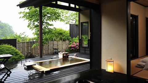 関東のお部屋食&露天風呂付き客室プランが人気の温泉宿