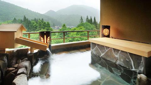 東北のお部屋食&露天風呂付き客室プランが人気の温泉宿