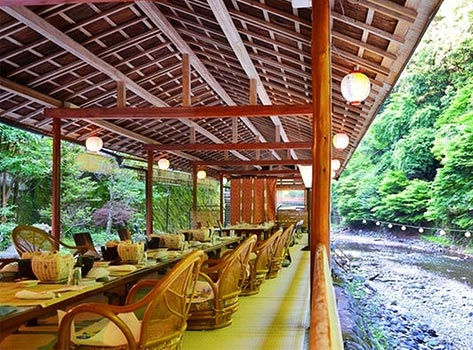 高雄観光ホテル:川床