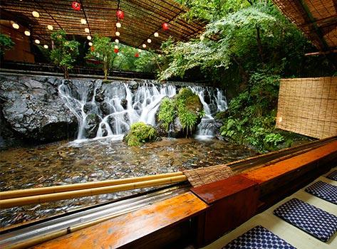 料理旅館 ひろ文:川床