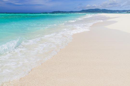 久米島 ハテの浜